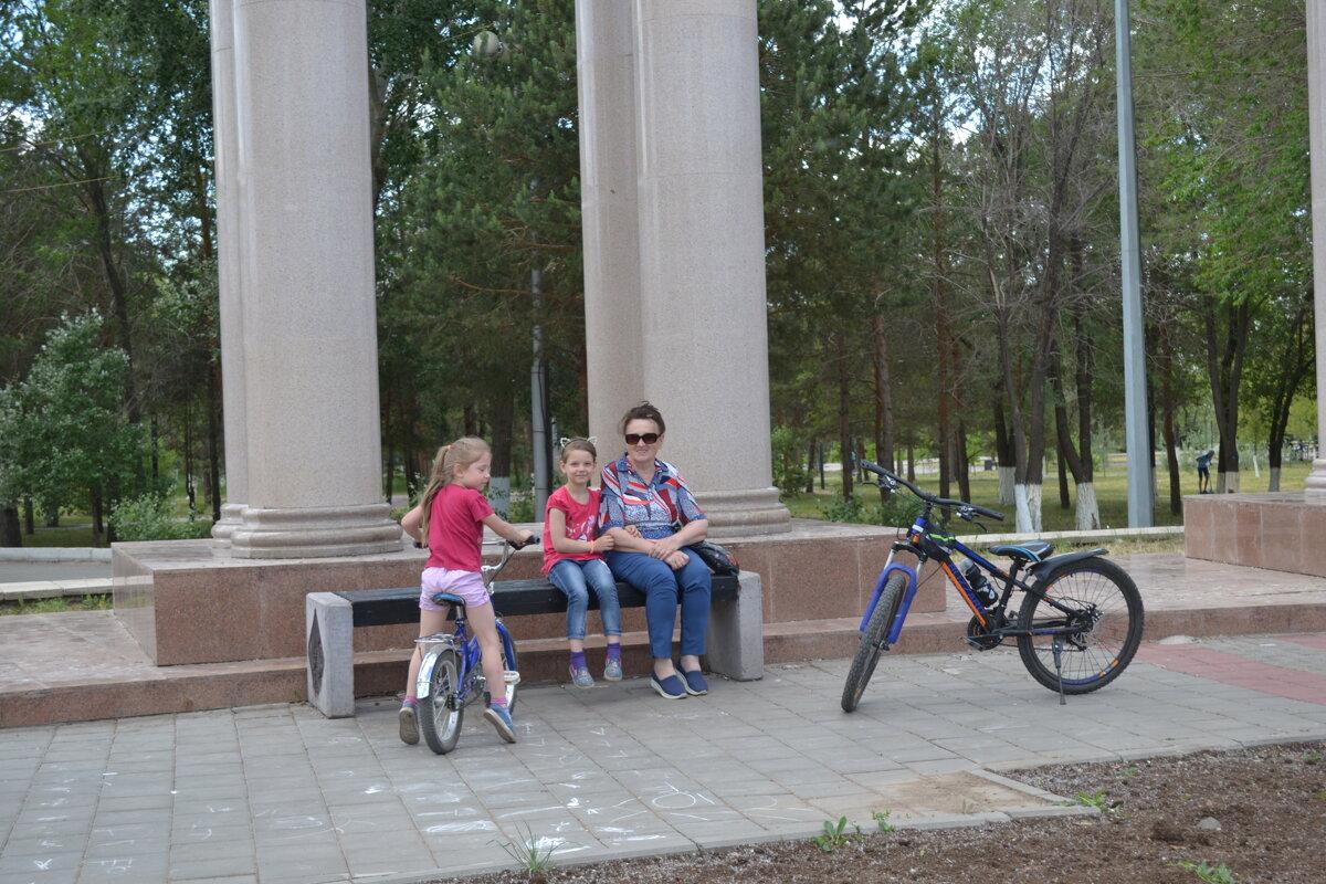 Велодевочки.... - Георгиевич