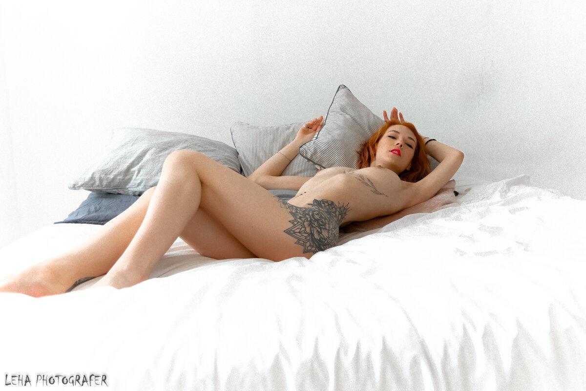 Съёмка Ню - Алексей Лобанов