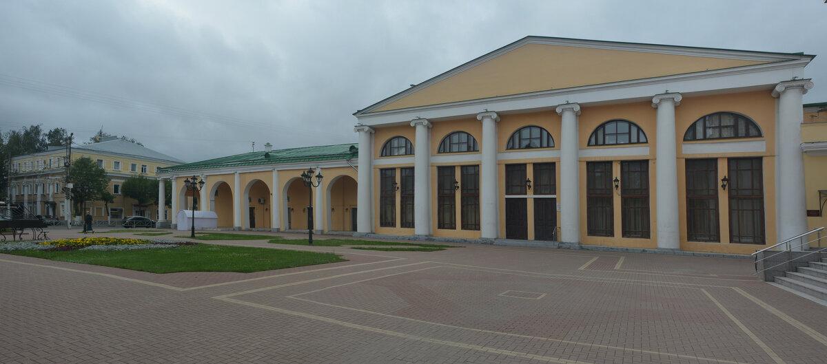 Вид на зал камерной музыки Рязанской областной филармонии (панорама) - Александр Буянов