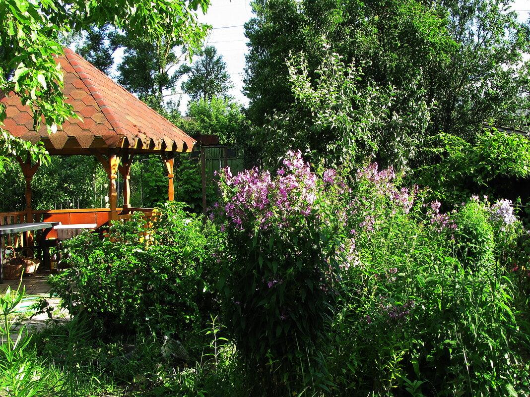В саду - sm-lydmila Смородинская