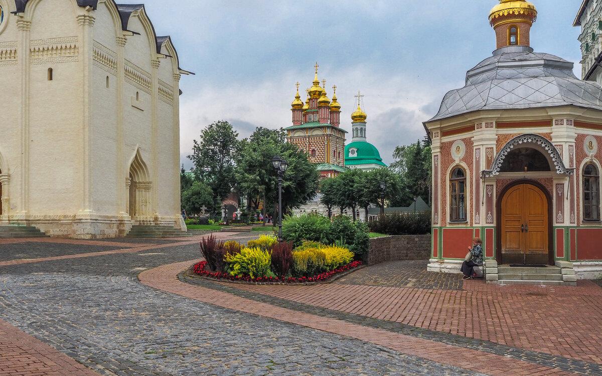 В Троице Сергиевой Лавре - юрий поляков