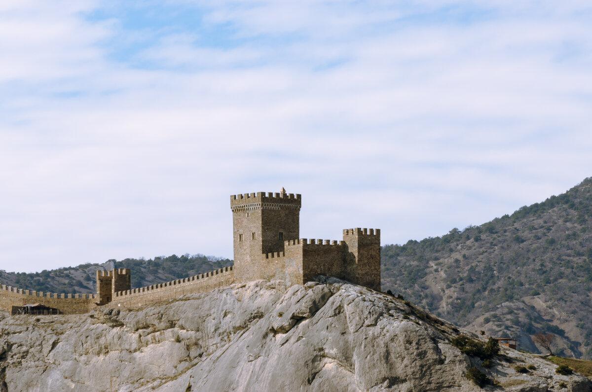 Генуэзкая крепость - Александр