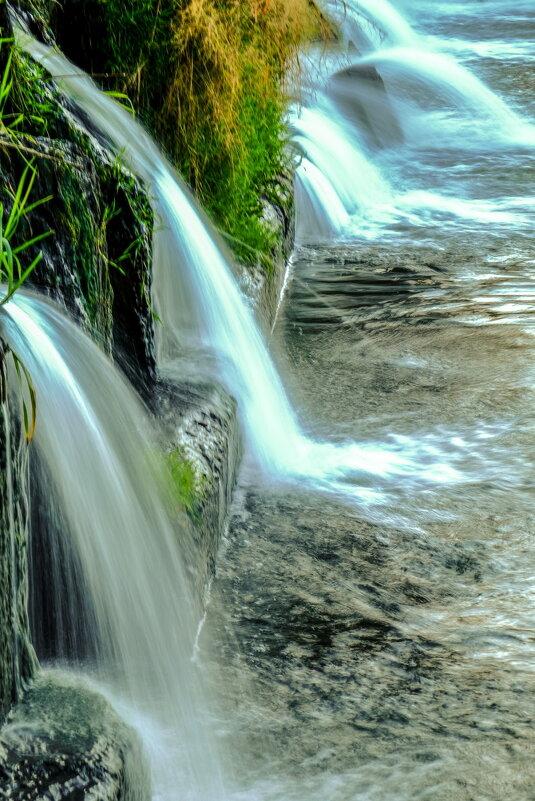 водопадик у речки - Георгий А