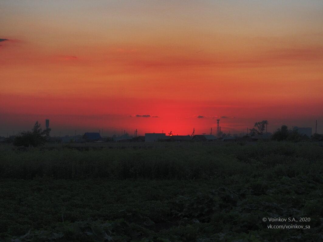 Солнце упало куда-то в соседний поселок - Сергей Воинков