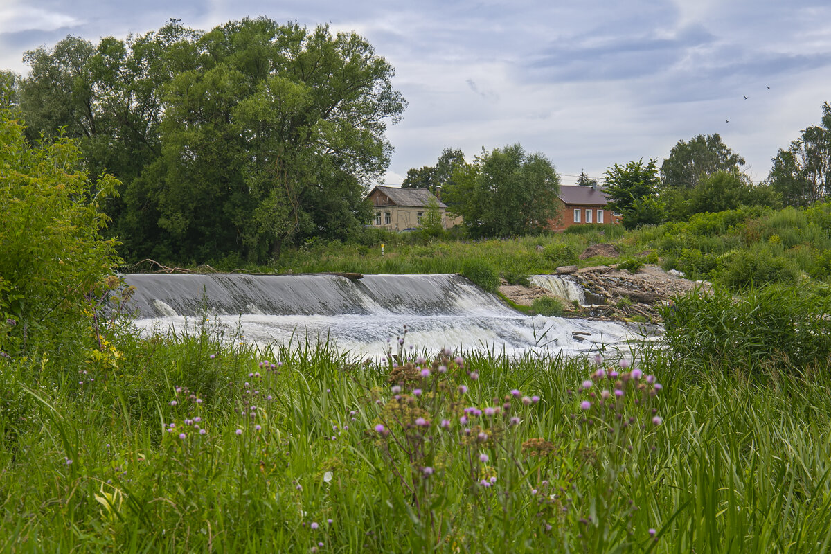 Плотина на реке Осётр - Светлана Карнаух