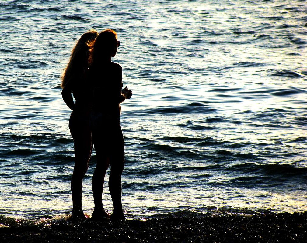 Девушки и море. - игорь кио