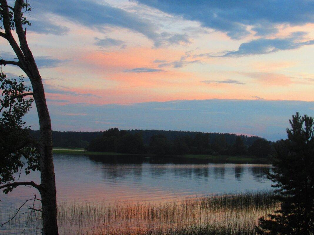 Закат на озере - Татьяна Гусева