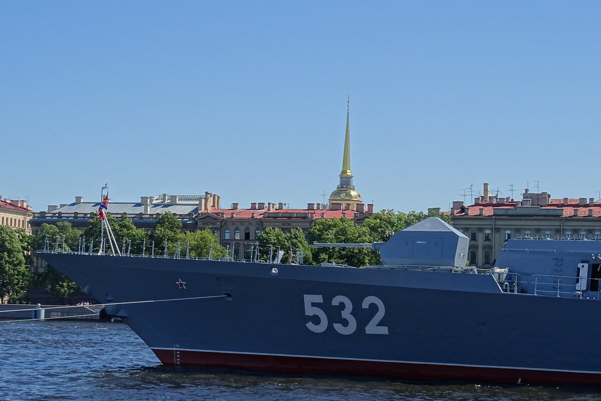 на носу корабля! предпраздничный город! скоро День ВМФ! - Anna-Sabina Anna-Sabina