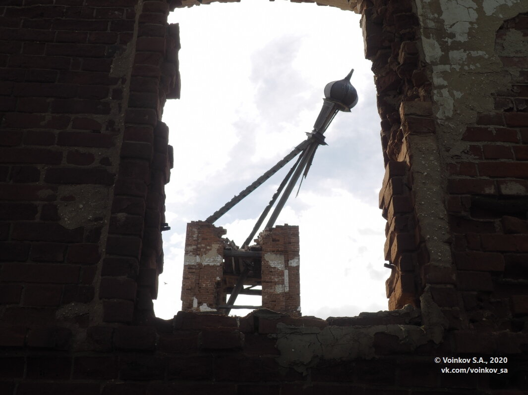 Бывшая церковь - Сергей Воинков