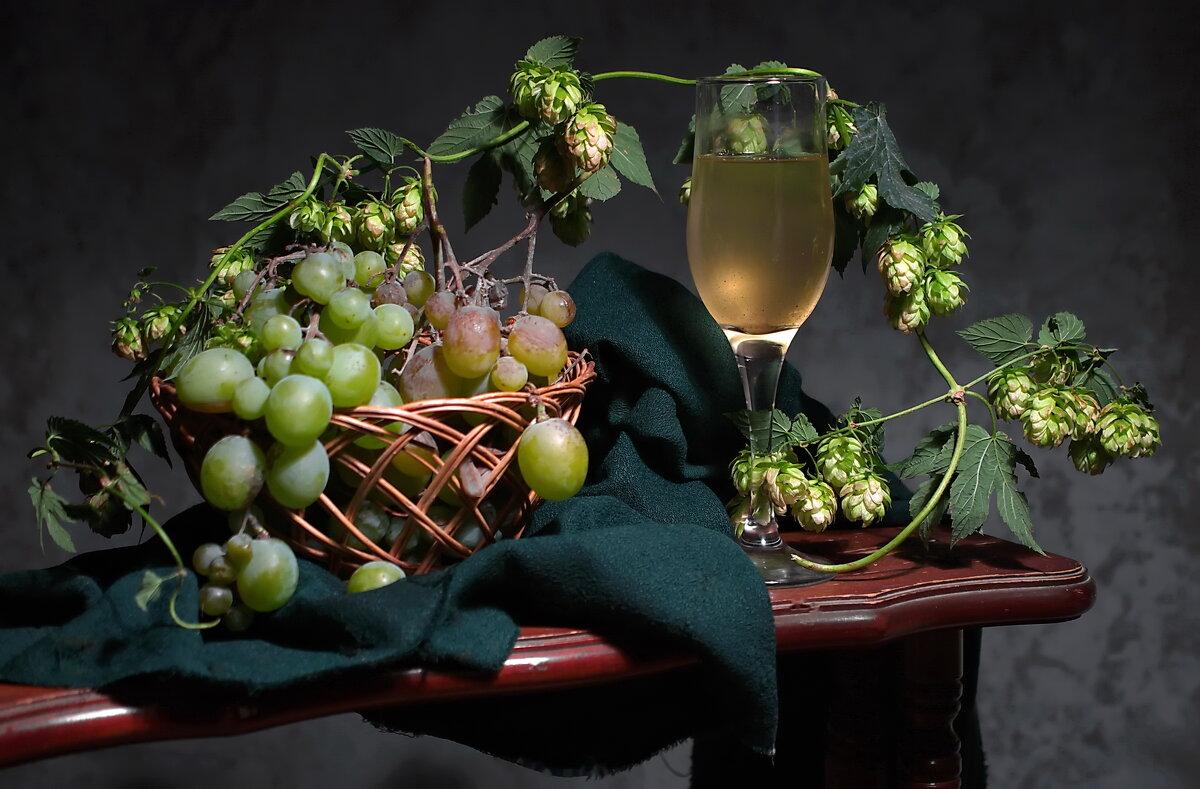 Бокал хмельного белого вина  ! - Анатолий Святой
