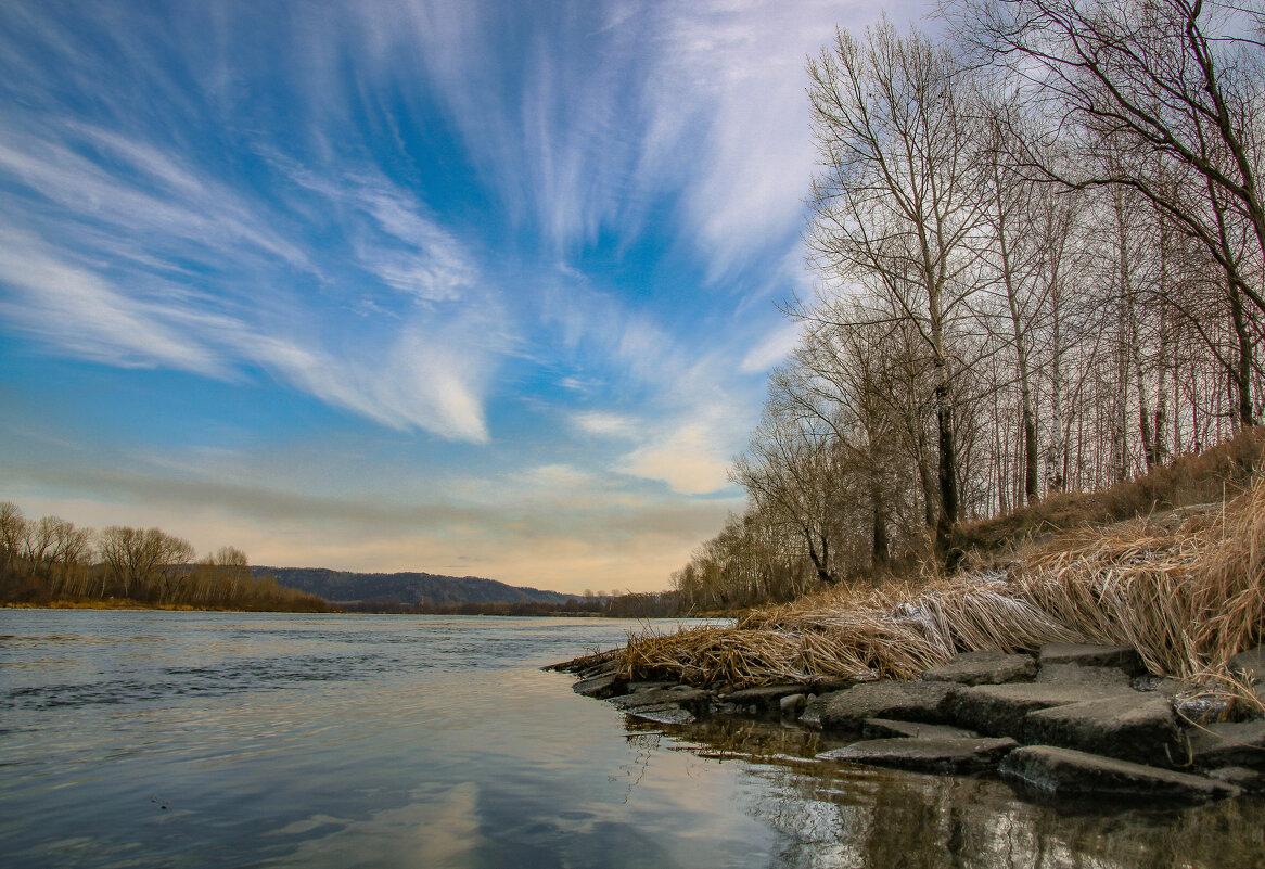 Река Томь. - Юлия