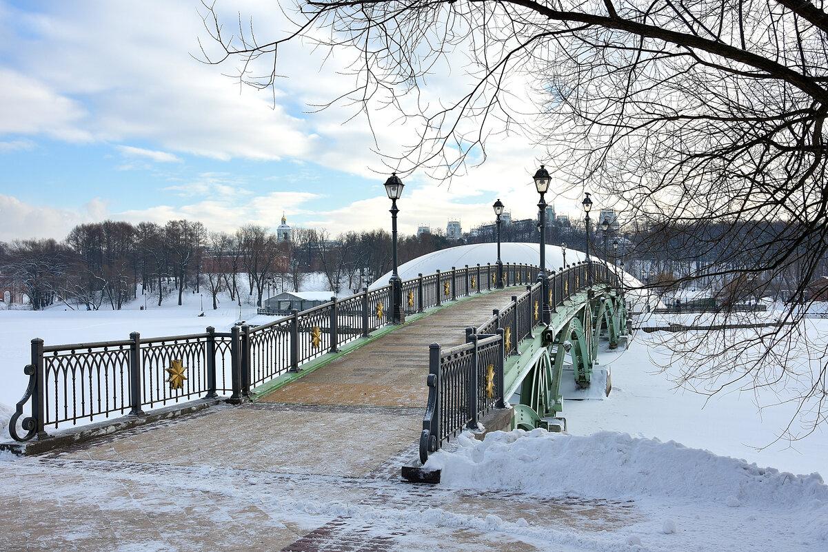 Зимний парк. - Oleg S