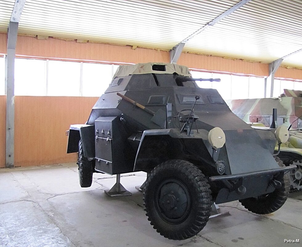 Лёгкий бронеавтомобиль - Маргарита