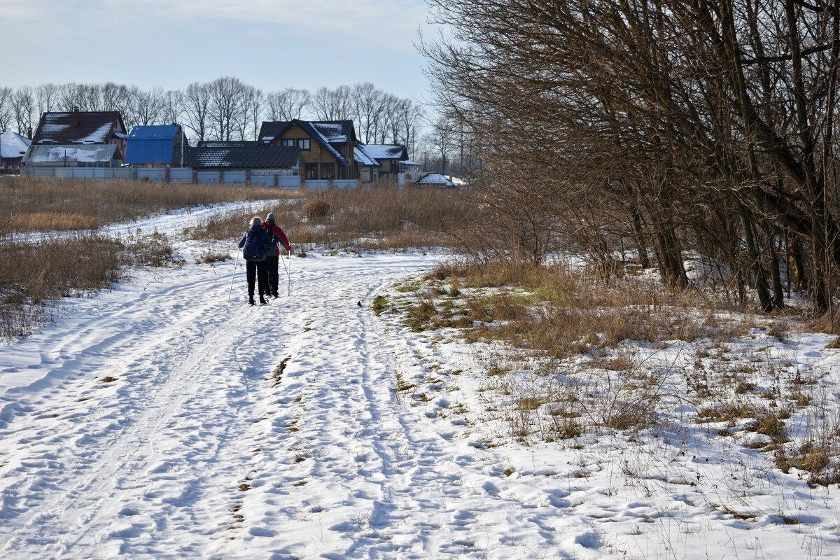 На лыжах в деревню - Gera