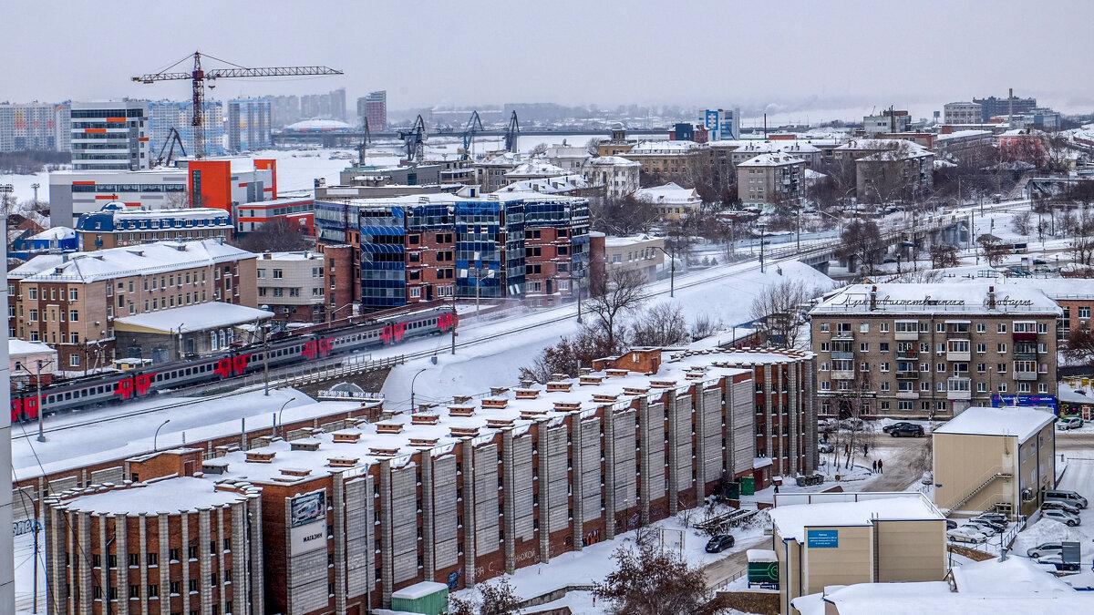 Город зимой - Dmitry i Mary S