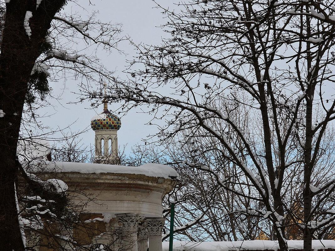 Зимний парк. - Александр