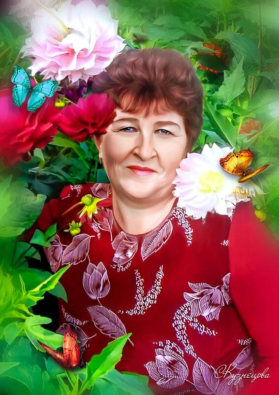 Арт портрет по фото. - Светлана Кузнецова
