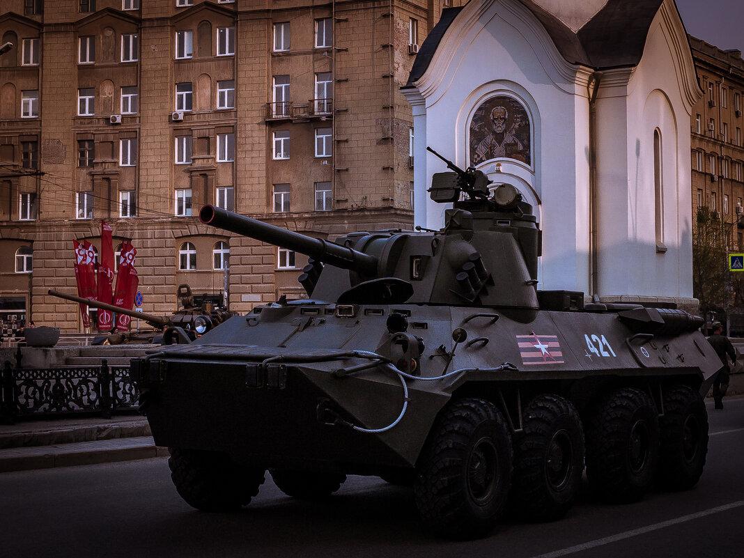 Репетиция парада Победы. Новосибирск, 7 мая - Елена Берсенёва
