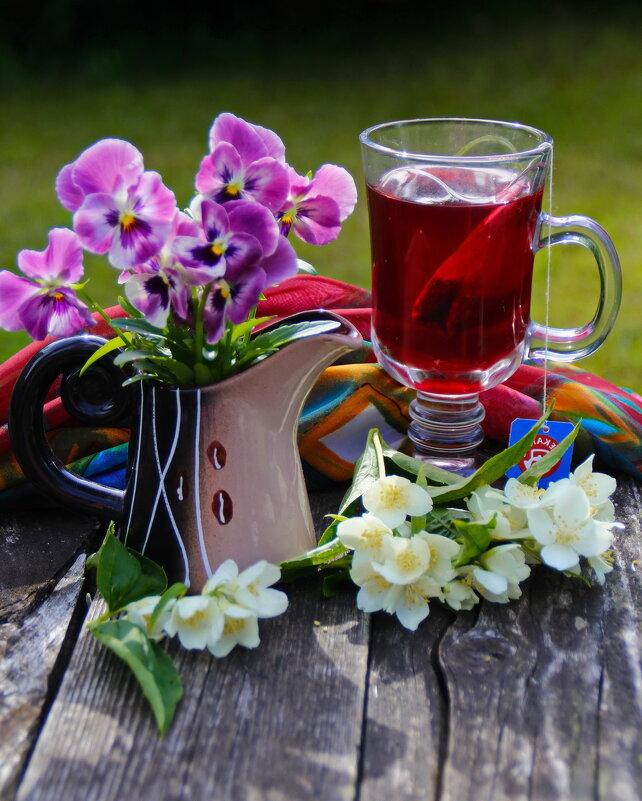 Утренний чай.. - Татьяна Ивановна