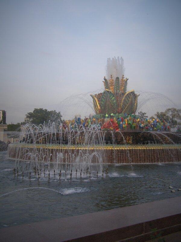 фонтан Каменный цветок - Анна Воробьева