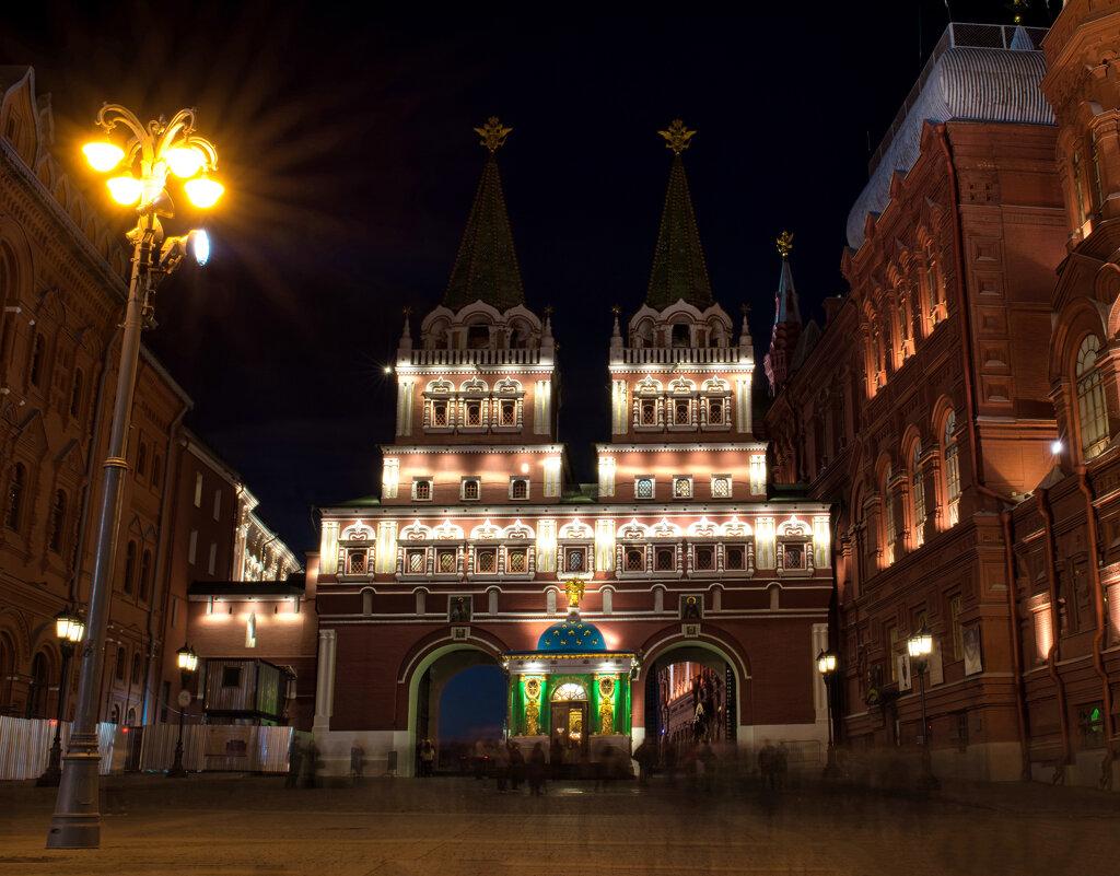 Красная площадь с длинной выдержкой - Dmitriy Vargaz
