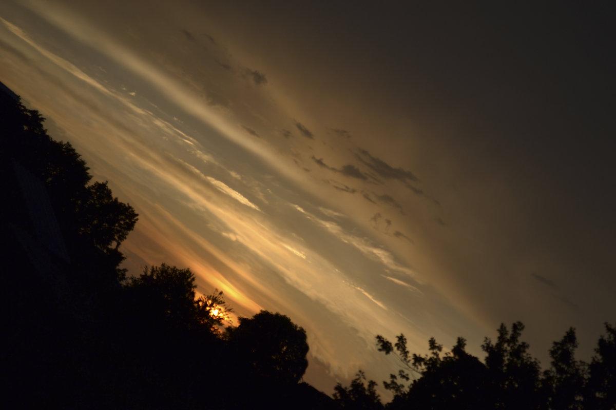 Захід сонця - Сливка Вікторія
