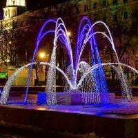 Фонтан для зимы :: Юрий Стародубцев