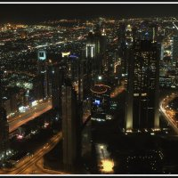 Огни Дубая :: Евгений Печенин