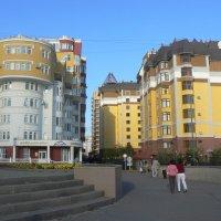 Дома на левом берегу Астаны :: Нургали Алибаев
