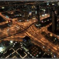 Дороги Дубая :: Евгений Печенин