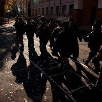 Строй кадетов... :: Дмитрий Киселев