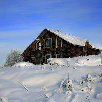 валдайские зарисовки( котедж в снегу) :: юрий макаров
