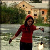 юная файерщица :: Лариса Красноперова