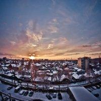 Зимний закат :: Александр Хохлов