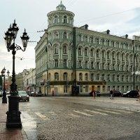 Фонари Биржевой площади :: Виктор Берёзкин