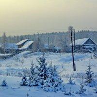 У околицы зимой :: Валерий Симонов