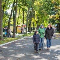 Прогулка в парке :: Анна Шашина
