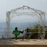 Вид на Бейт-Лехем из киббуца Рамат Рахель, Иерусалим :: Игорь Герман