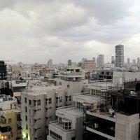 Тучи над Тель-Авивом :: Алла Шапошникова