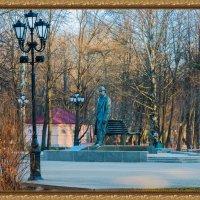 Памятник С.В.Рахманинову в ВНовгороде :: Евгений Никифоров