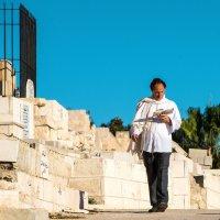 Иудей на мусульманском кладбище :: Сергей Вахов