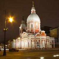 Пантелеймоновская церковь. :: Anton Lavrentiev
