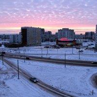 Северодвинск. И вот мороз пришел. Но слабый, на этот раз... :: Владимир Шибинский