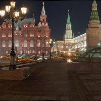 Ночью на Манежной площади :: Александр Лебедев