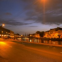Ночная прогулка :: Валерий Анохин