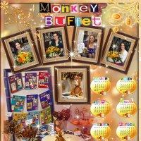Календарь для Monkey Buffet :: Дарья Казбанова