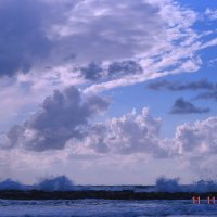облака над Средиземным морем :: Оксана Чепкасова