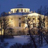 Подсветка Павловского дворца :: Александр Петров