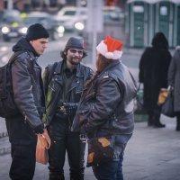 Встреча Деда Мороза :: Алексей Соминский