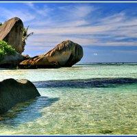 Тропический берег Ла Дига :: Евгений Печенин